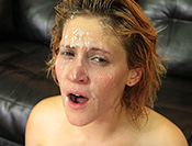 Face Fucking Jane Dillinger gets a rough throat fucking